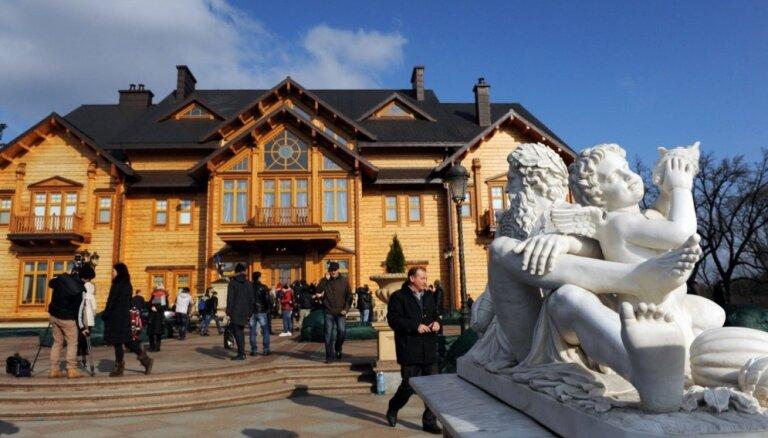 Janukoviča pils: tauta par tās eksistenci uzzināja tikai pirms gada
