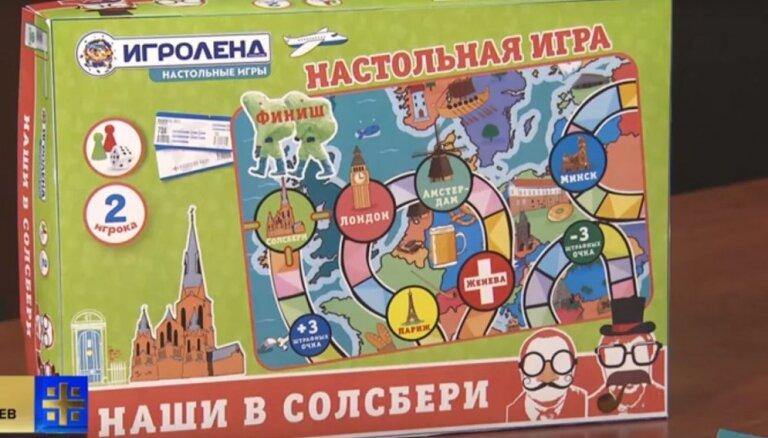 Skripaļu indēšana: Krievijā radīta spēle bērniem 'Mūsējie Solsberi'