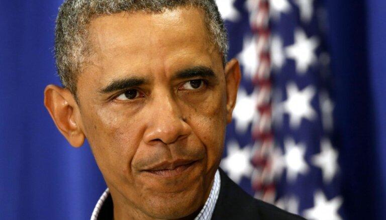 Putina darbības Krievijas ekonomikas glābšanā 'nav prātīgas', uzskata Obama