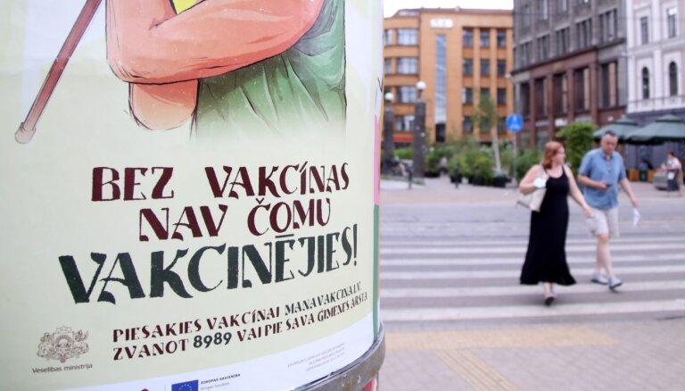 No pirmdien atklātajiem Covid-19 gadījumiem 36% reģistrēti Rīgā
