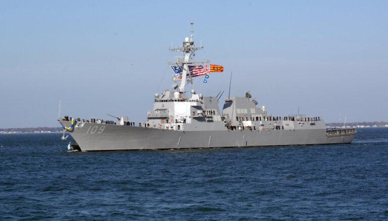В Балтийское море зашел ракетный эсминец США