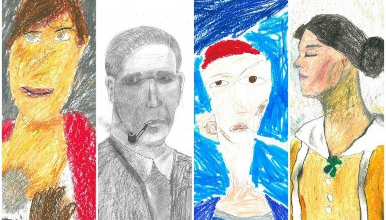 LNMM atklās zīmējumu izstādi 'Portrets portretā'