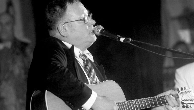 Mūžībā devies estrādes mūziķis Gunārs Meijers