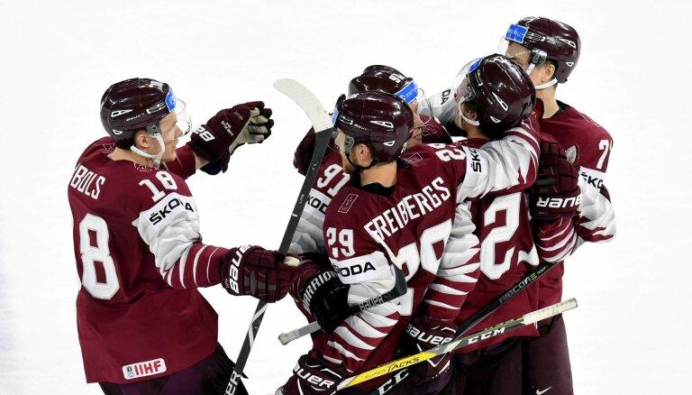 Latvija lūkos pēc TOP 8, konkurenti pulcina NHL zvaigznes – Slovākijā sākas PČ hokejā
