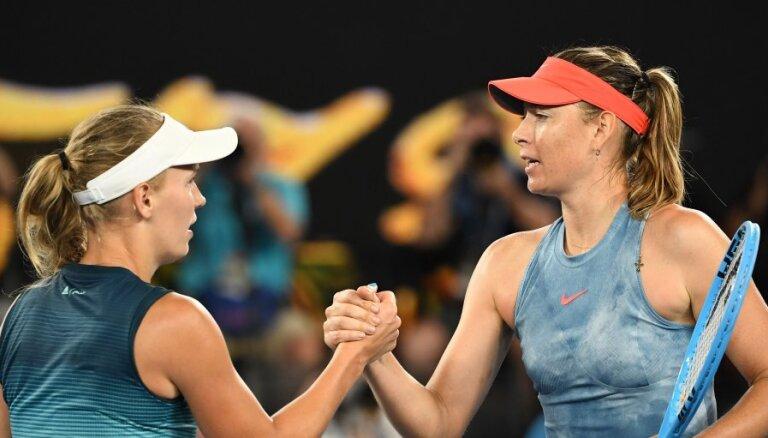 Шарапова в 1/16 финала Australian Open обыграла прошлогоднюю чемпионку — Возняцки
