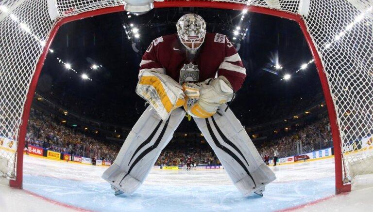 Merzļikins Lugano komandai sagādā 'sauso' uzvaru IIHF Čempionu līgas mačā