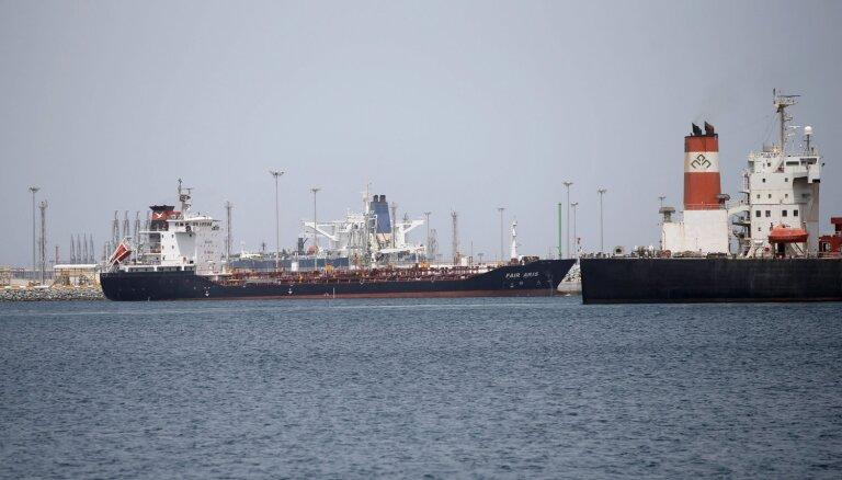 Saūda Arābija paziņo par sabotāžas uzbrukumiem diviem tās tankkuģiem