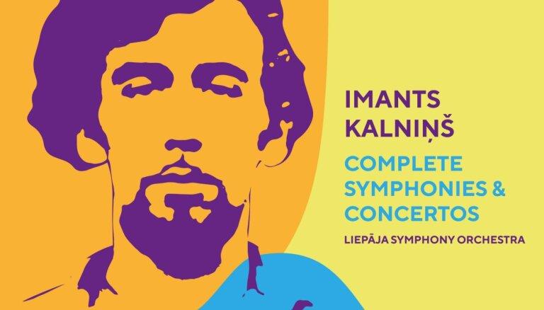 Vienā albumā izdoti Imanta Kalniņa nozīmīgākie simfoniskie darbi
