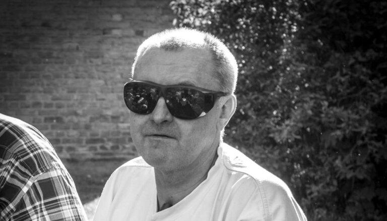Mūžībā devies sporta žurnālists Valters Nikans