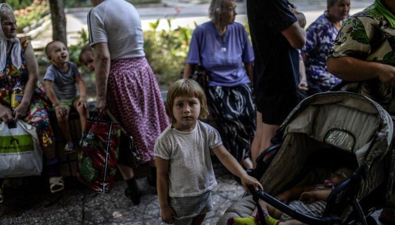Rīgas dome sniegs palīdzību Austrumukrainas civiliedzīvotājiem 110 000 eiro apmērā
