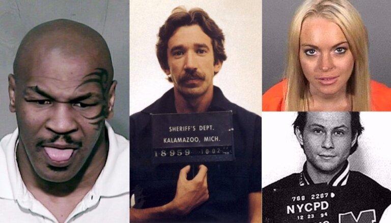 Kautiņi, narkotikas, izvarošana: slavenības ar krimināliem grēkiem