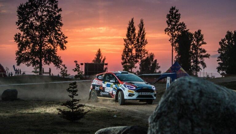 Sesks Igaunijas posmā arī pēc otrās dienas ieņem ceturto vietu JWRC klasē