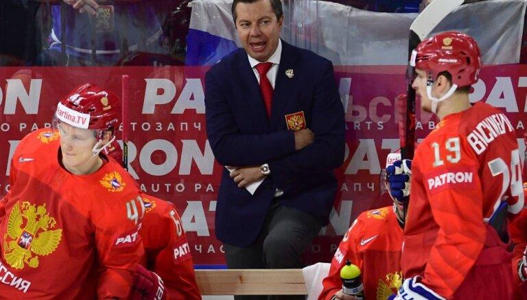 Воробьев будет тренером сборной России по хоккею минимум два года