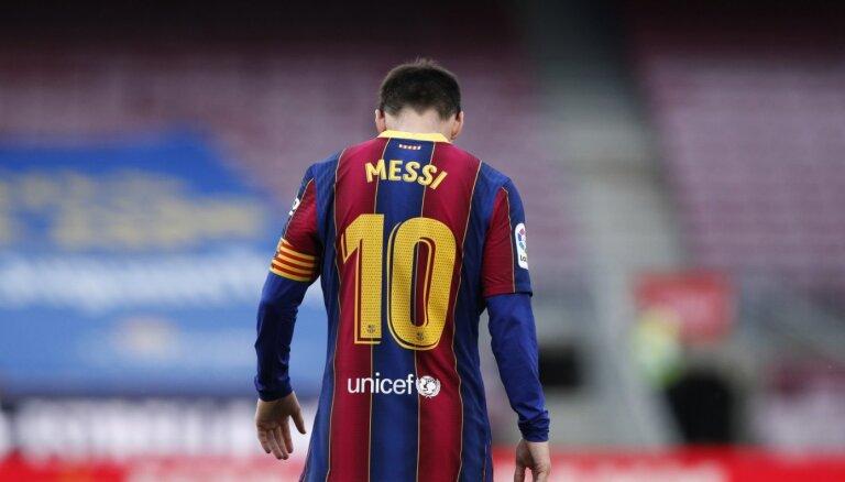 Mesi kļūst par brīvo aģentu; 'Barcelona' cer paturēt argentīnieti savās rindās