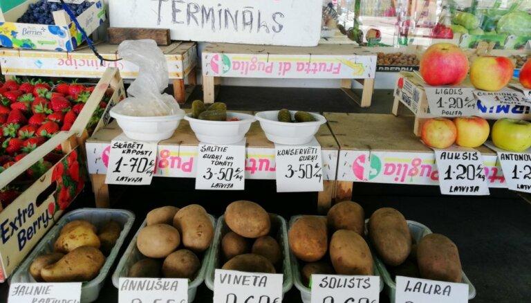Министерство: налоговая льгота сработала, овощи и фрукты в Латвии подешевели