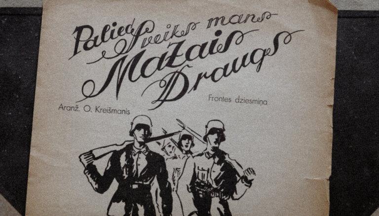Kā Dziesmu svētku virsdiriģents sarakstīja slavenāko latviešu leģionāru dziesmu