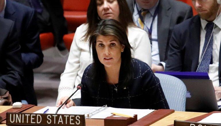 Постпред США при ООН обвинила РФ в разжигании конфликта в Донбассе