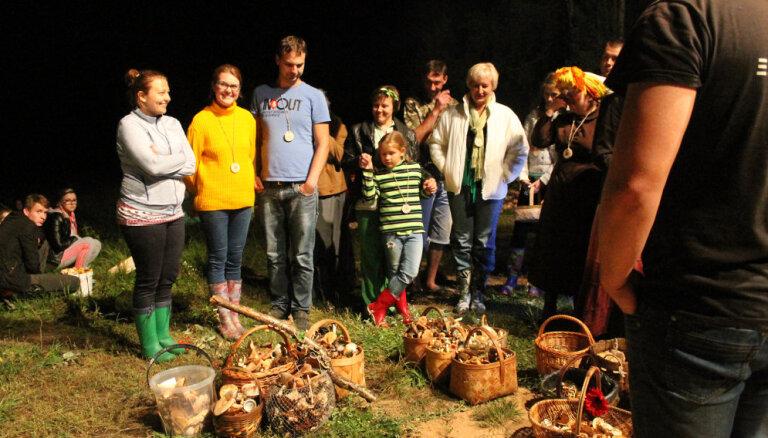 Dabas parkā 'Numernes valnis' norisināsies ikgadējais nakts sēņošanas festivāls
