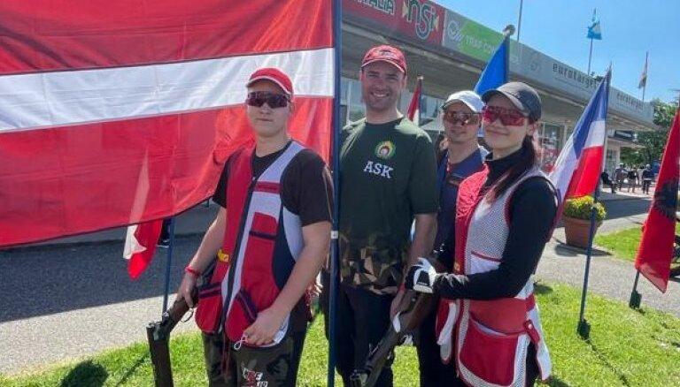 Latvijas izlases pārstāvji piedalīsies Pasaules kausa posmā stenda šaušanā