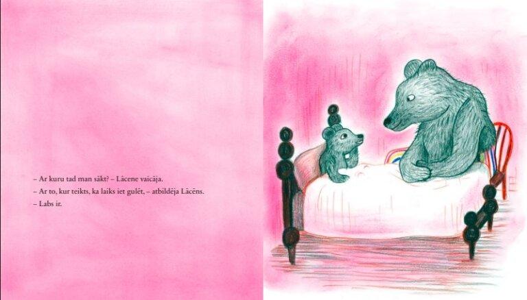 Izdota Kitijas Krauzeres bilžu grāmata 'Mazie nakts stāsti'