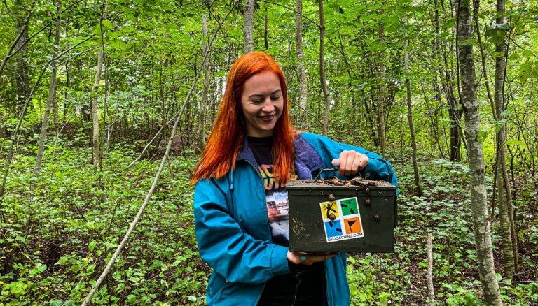 Dārgumu medības mežā. Tavs jaunais hobijs – slēpņošana