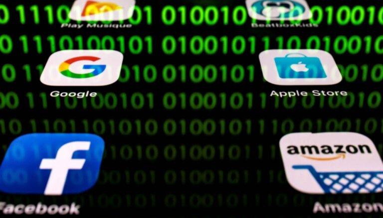 Francija no nākamā gada ieviesīs nodokli interneta gigantiem 'Google', 'Apple', 'Facebook', 'Amazon'
