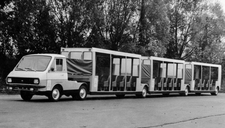 Rīgas Motormuzejs plāno restaurēt 1979. gadā ražotu autovilcienu