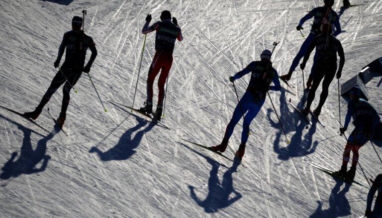 Biatlonistei Juškānei 72.vieta pasaules čempionāta sprinta sacensībās