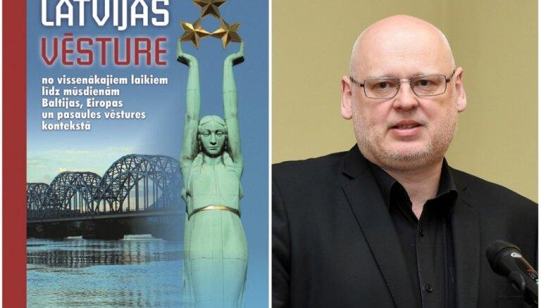 Izdota vēsturnieka Klišāna grāmata par Latvijas vēsturi Eiropas un pasaules kontekstā