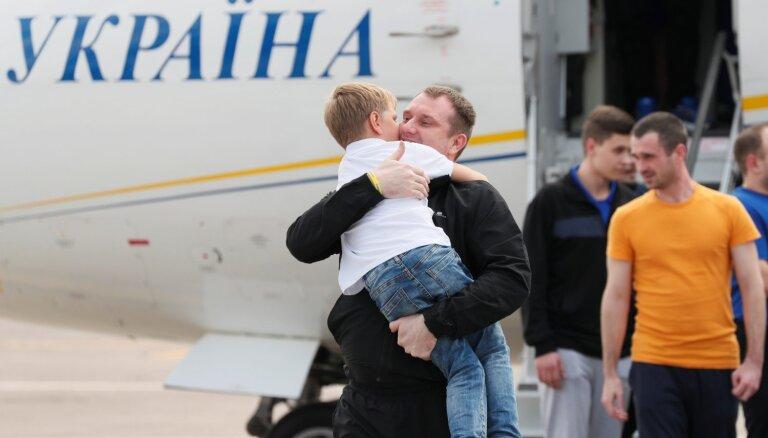 Обмен заключенными между Москвой и Киевом состоялся