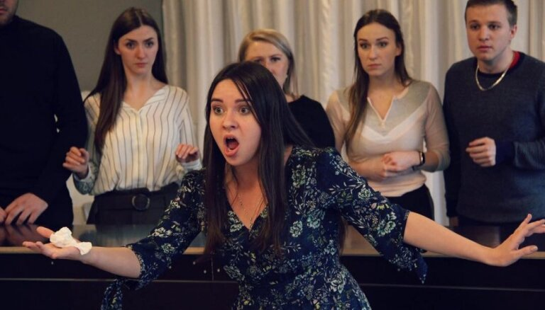 Operstudija 'Figaro' aicina uz komiskās operas 'Dzirnavniece' pirmizrādēm