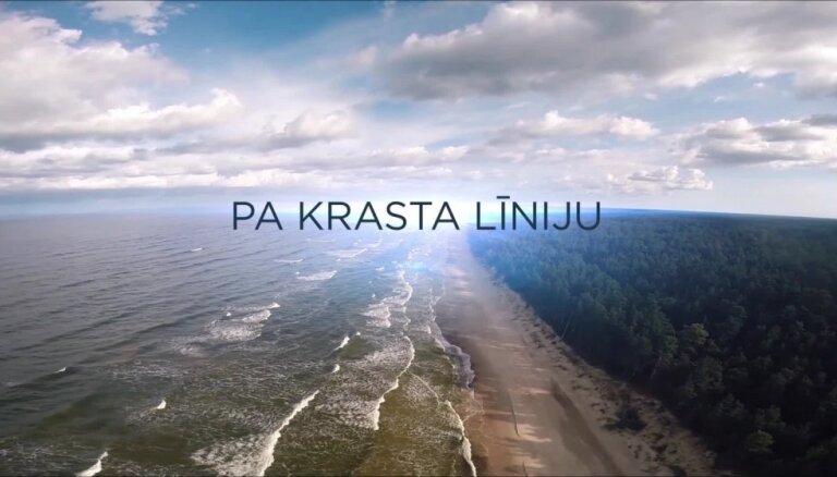 Piedzīvo simtgades lidojumu pāri Latvijas krasta līnijai – filmas pirmizrāde portālā 'Delfi'