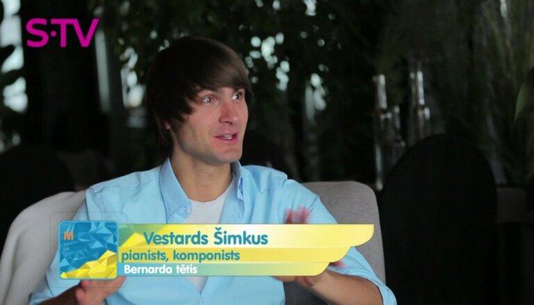 Vestards Šimkus vairāk nervozē par praktiskiem darbiem nekā par uzstāšanos