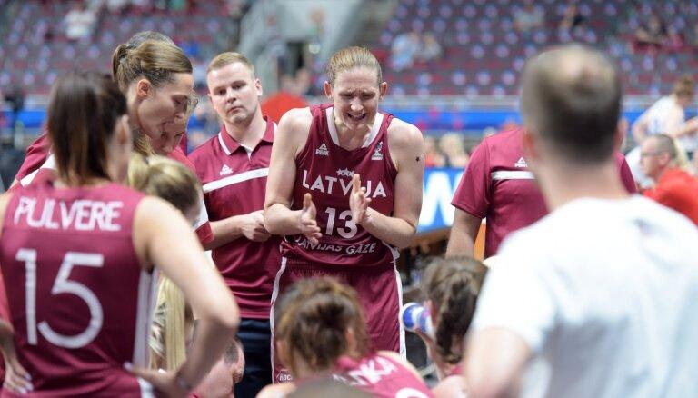 Latvijas basketbolistēm 'Eurobasket' svarīga cīņa - pret Ukrainu