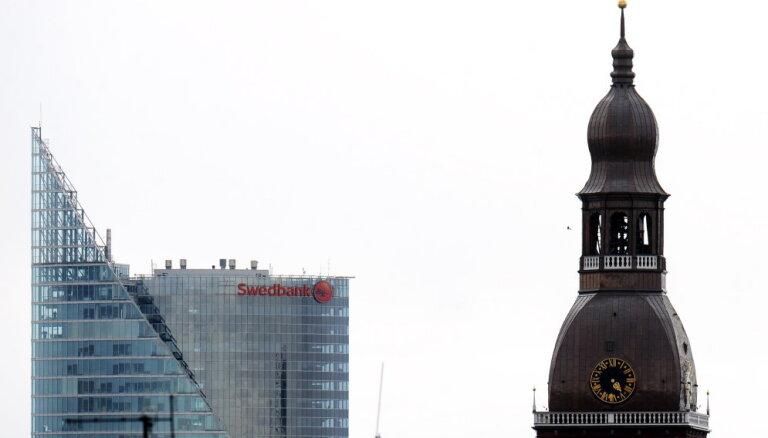 'Swedbank': Finanšu nozarē 2018. gads bija raibs