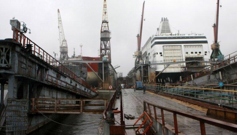 Оборот Rīgas kuģu būvētava рухнул почти в пять раз, убытки увеличились