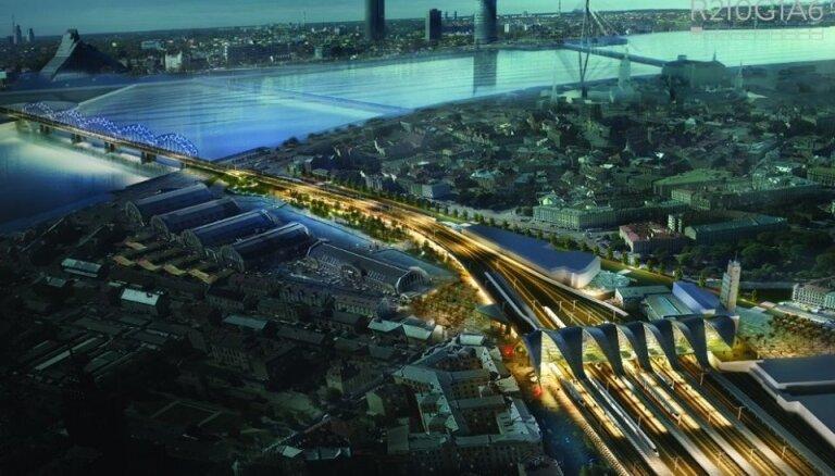 'Rail Baltica' vajadzībām atsavinās 123 īpašumus