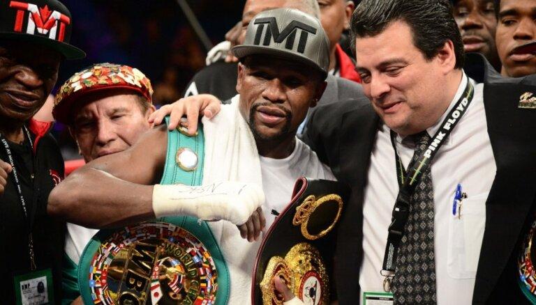 Neuzvarētais Meivezers nākamgad Tokijā atgriezīsies boksa ringā
