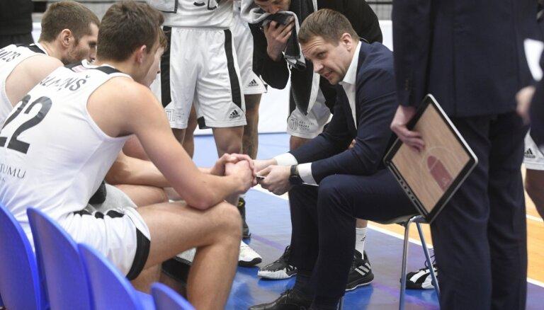 'VEF Rīga' basketbolisti pagaidām neaizvada koptreniņus