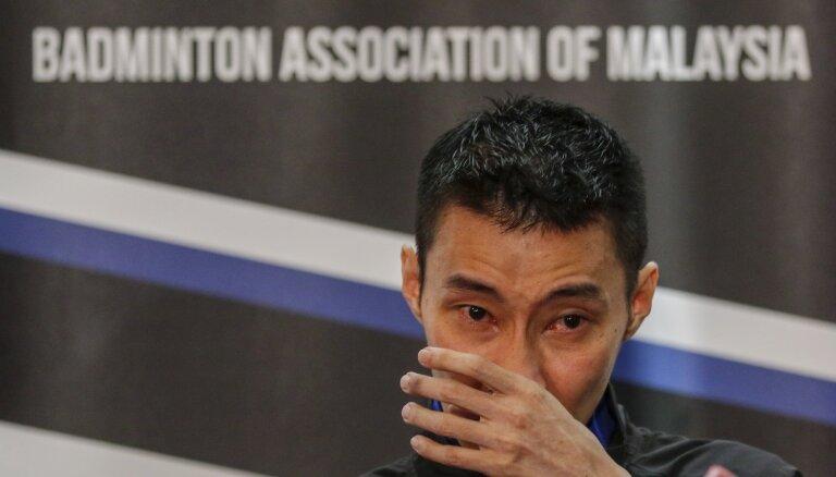 Vēža dēļ karjeru noslēdz pasaules badmintona leģenda Lī