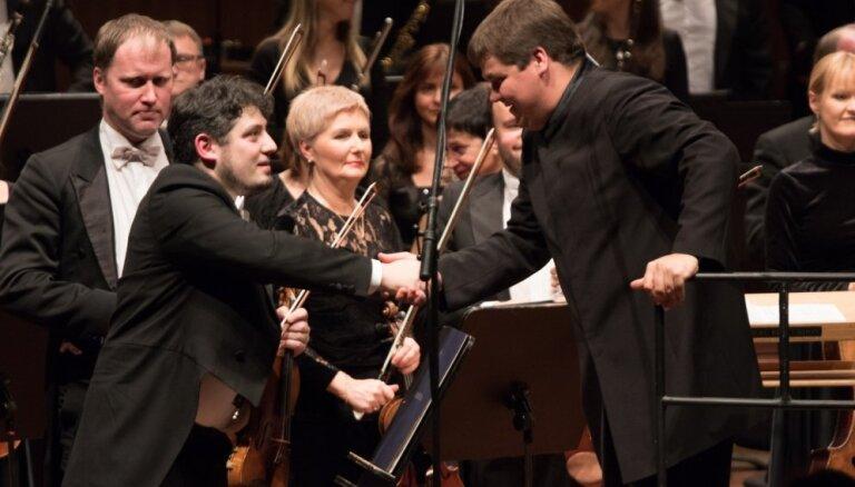 Foto: LNSO īpašais Dmitrijam Šostakovičam veltītais koncerts