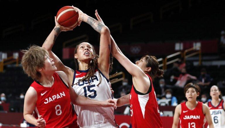 Tokijas vasaras olimpisko spēļu sieviešu basketbola turnīra rezultāti (08.08.2021)