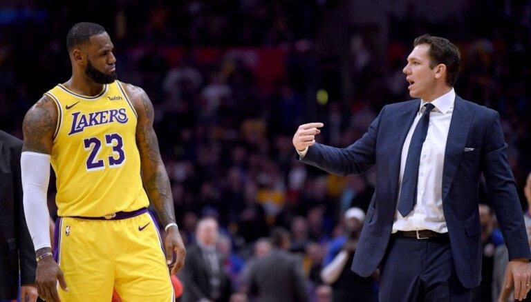 'Kings' un NBA slēdz izmeklēšanu lietā par trenerim Voltonam izvirzīto apsūdzību