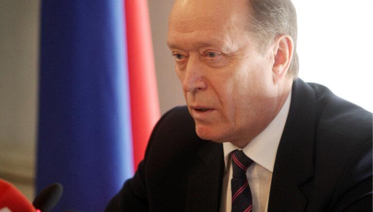 Посол России: поток инвестиций на строительство завода в Елгаве вскоре возобновится