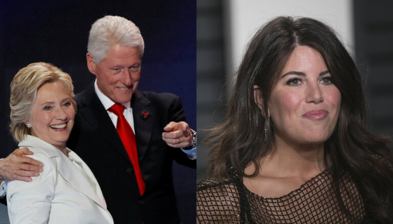 25 gadus pēc seksskandāla Klintons atklāj, kāpēc ielaidās ar Moniku Levinsku