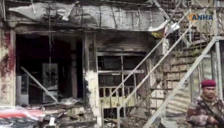 Sprādzienā Sīrijā nogalināti vairāki ASV karavīri