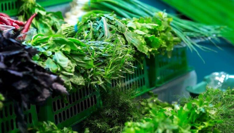 Vienkāršs knifs, kā ledusskapī saglabāt svaigus zaļumus pat divas nedēļas