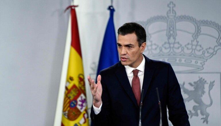 Spānijas premjers izsludina ārkārtas vēlēšanas