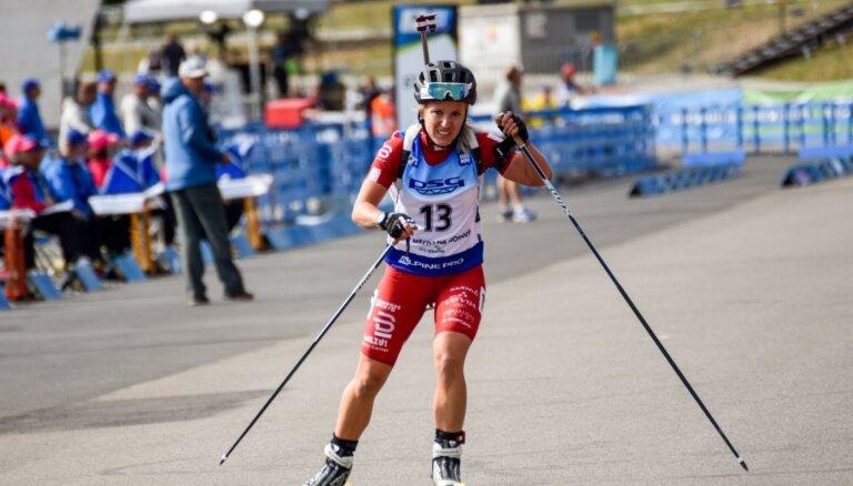 Bendikai 12. vieta sprintā pasaules čempionātā vasara biatlonā