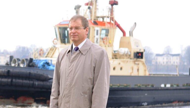 RD opozīcija prasa atbrīvot Ameriku no amata Rīgas brīvostas pārvaldē